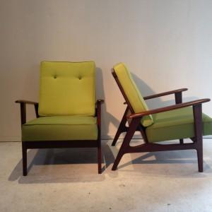 teak easy chair
